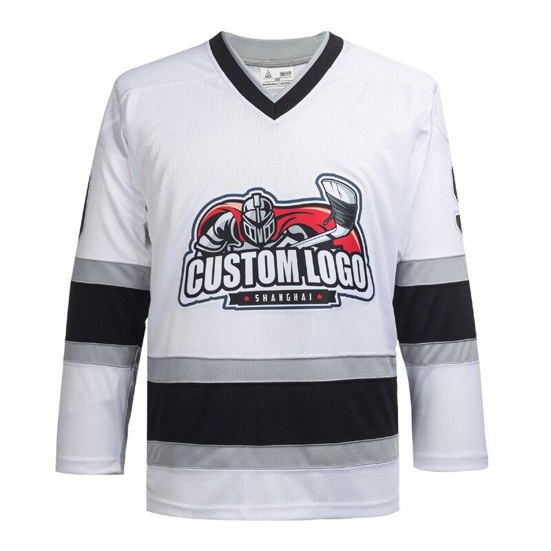 Cool Hockey alta calidad hielo hockey sudadera al por mayor personalizado jerseys P0XX bordado sintético