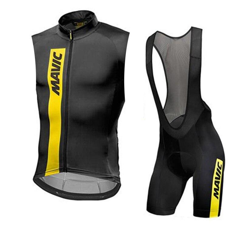 2019 MAVIC Summer Cycling Jersey Set Breathable MTB Bicycle Cycling Clothing Mountain Bike U50803