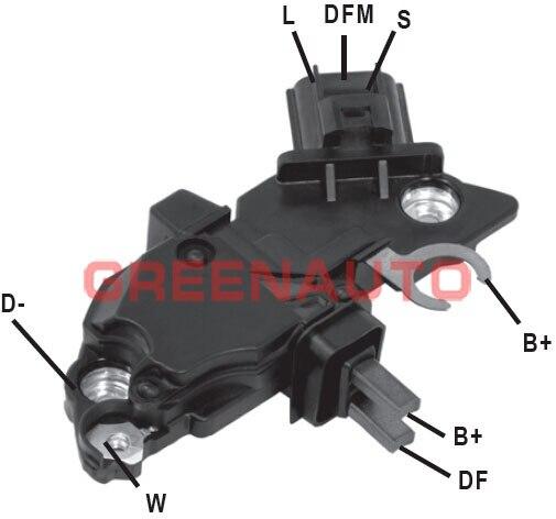 Regulador de voltaje de alternador para Cummins MWM 0124315019 0124415006