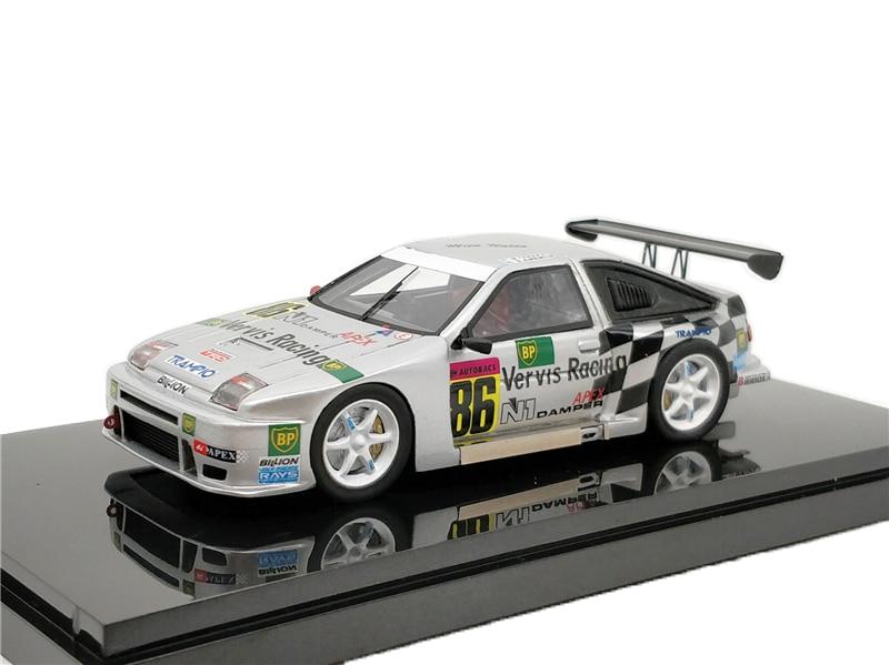 1:43 Ebbro Toyota AE86 S JGTC racing 1999 Diecast Model Car