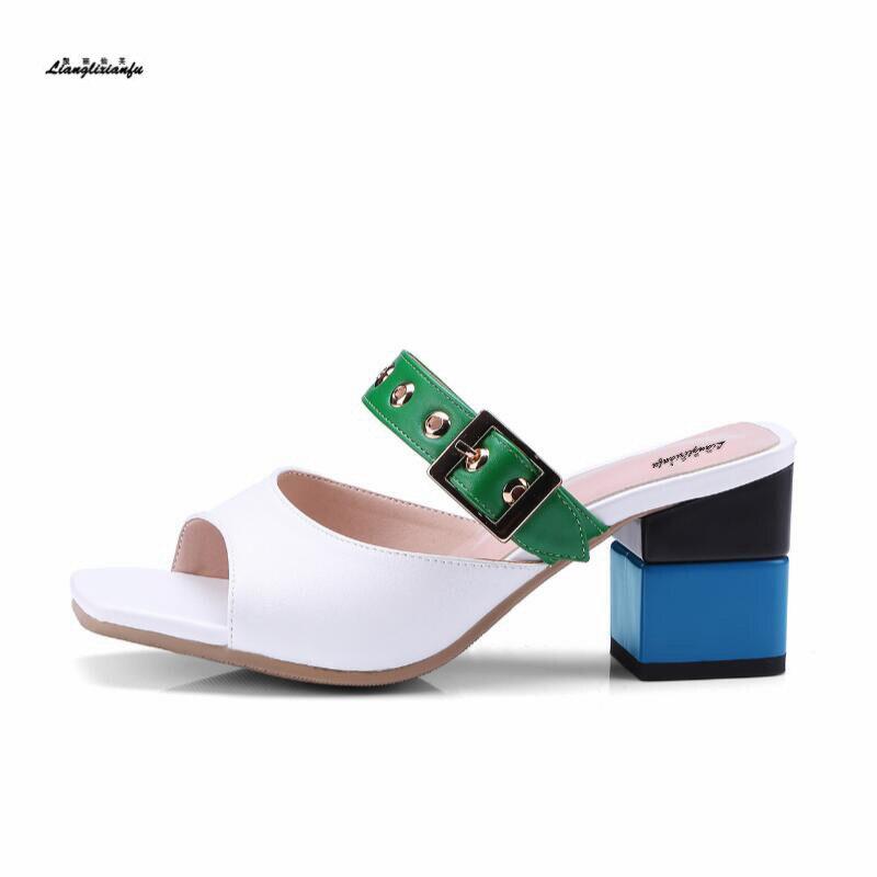 Sandalias femeninas con nuevo diseño, tallas: 32 33-43, zapatos elegantes informales para...