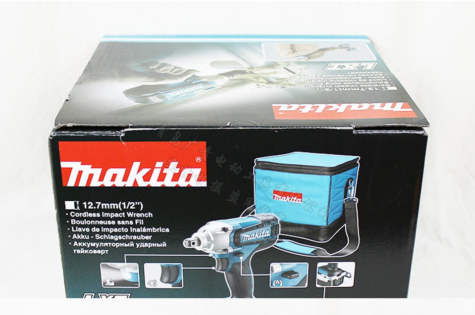 Japan DTW190SFX1 Rechargeable Electric Wrench Charged Double/Single Lithium Battery Impact Wrench Bolt Sleeves Max Torque190N·m enlarge