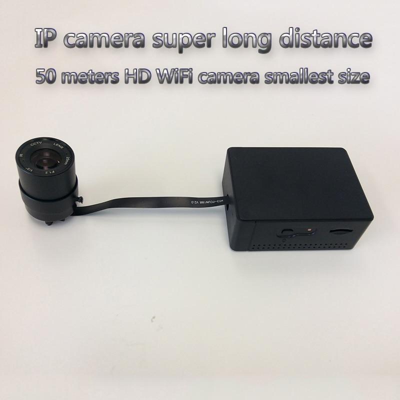 IP camera long distance 50M HD super mini camera  realtime recording