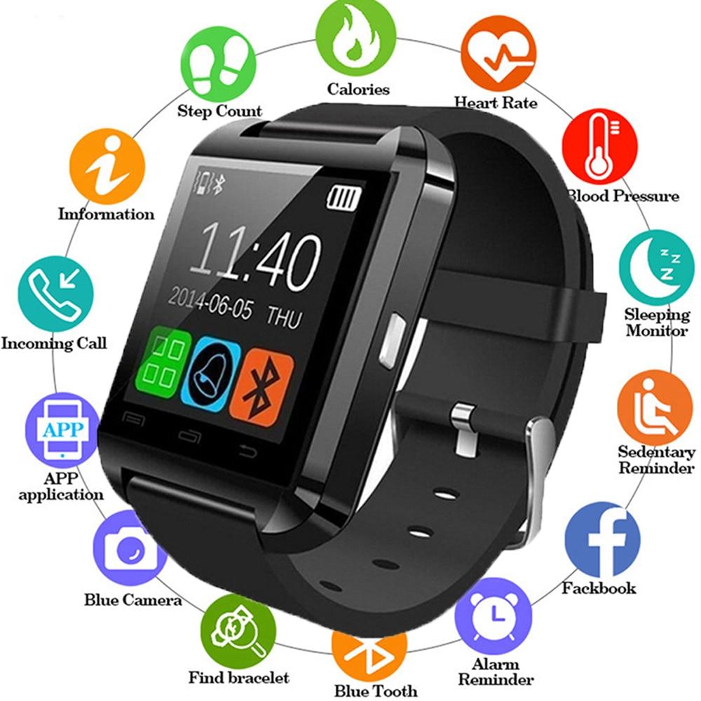 Smartwatch Bluetooth Smart Watch U8 For iPhone IOS Android Smart Phone Wear Clock Wearable Device Smartwatch PK GT08 DZ09 A1