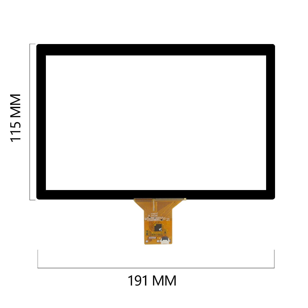 Для Singway XWC 2031 V1 Singway XWC 2040, 8-дюймовый емкостный экран, 191*115 мм сенсорный экран