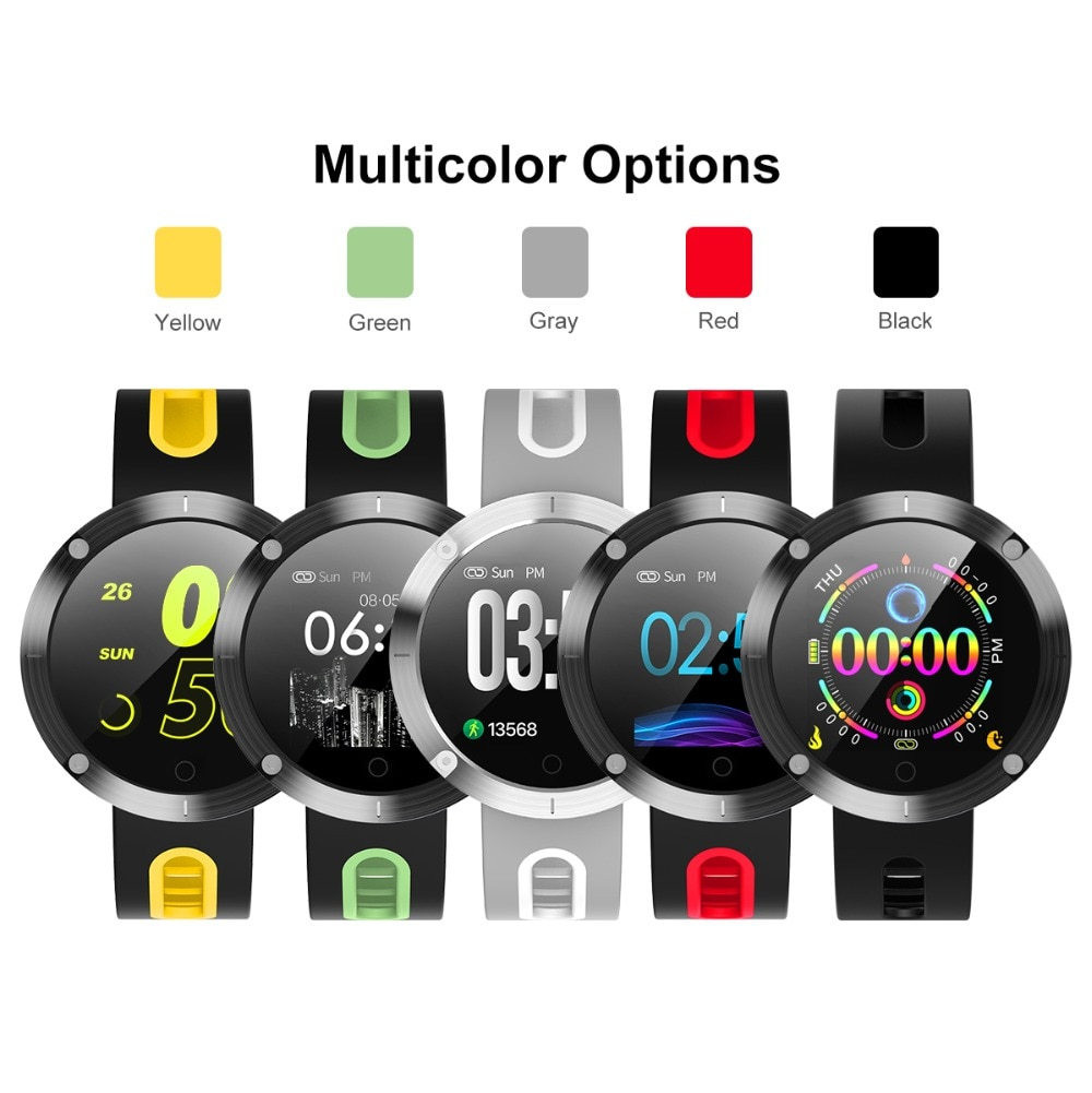 DM58 plus Bluetooth smart bracelet, blood pressure, heart rate, IP 68 waterproof activity tracker smartwatch