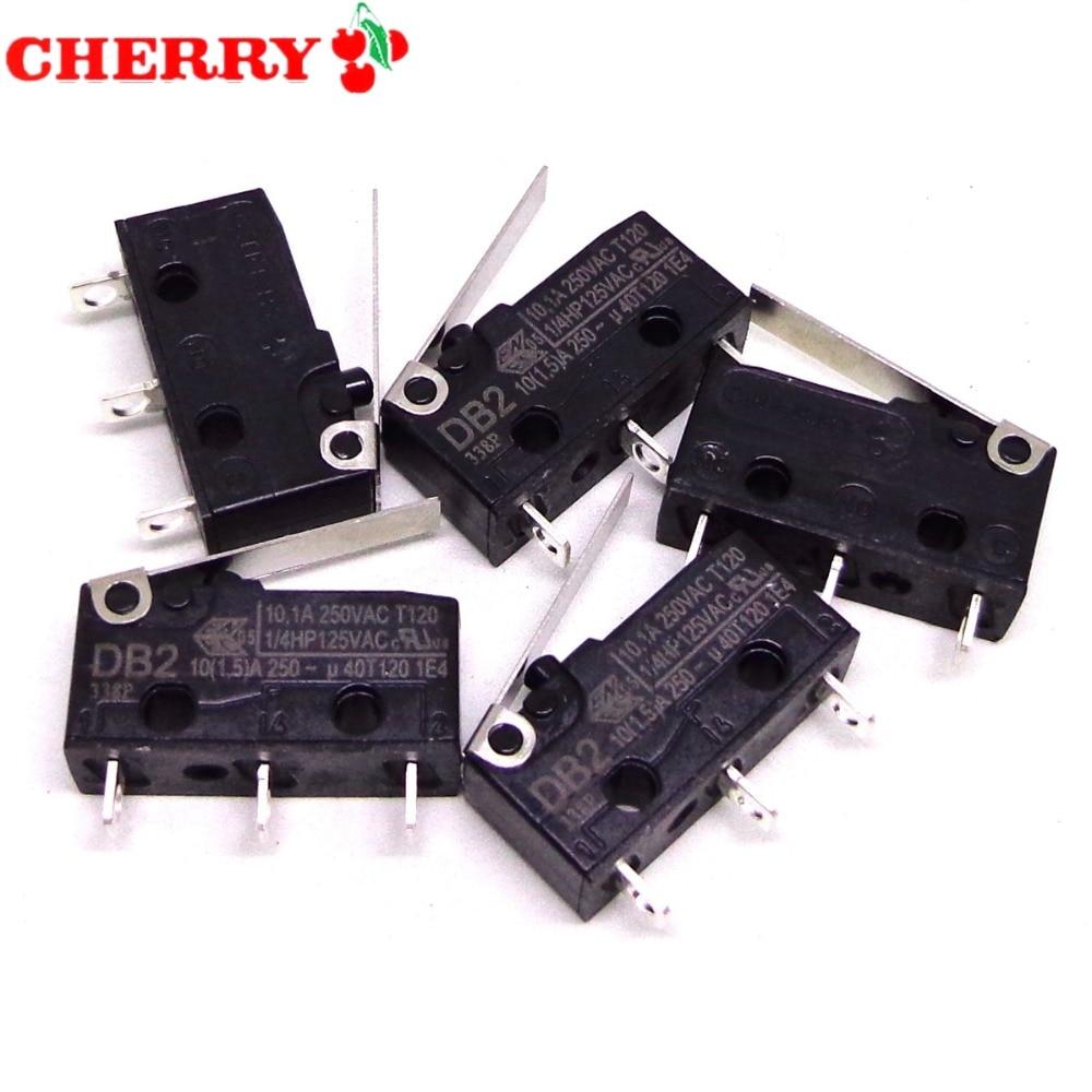 5 uds cereza ZF micro interruptor DB2 DB2C-A1AA-A1LA-A1RB DC2 DC2C-A1AA-A1LA-A1RB-A1LC 10A 250V nuevo y ORIGINAL
