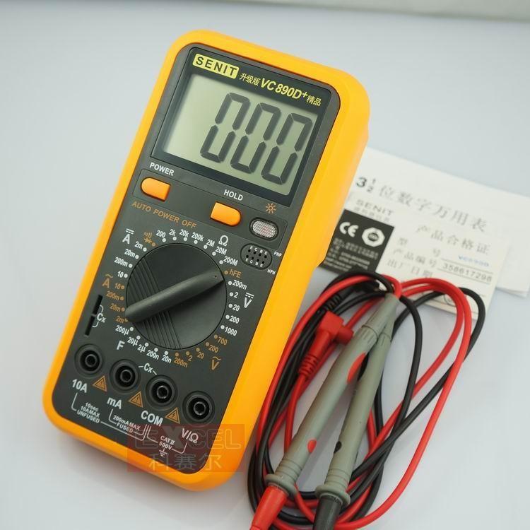 Shenglide VC890C + original verbesserte version VC890D + hohe-qualität digital-multimeter digital display multimeter