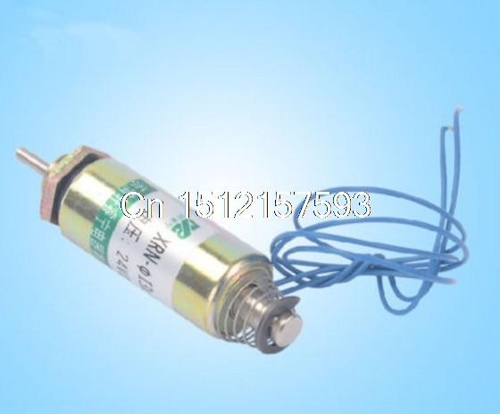 XRN-13/30TL 24V 12V 50g XRN-19/42TL 24V 12V 100g قوة 6 مللي متر أنبوبي دفع نوع الكهربائية الملف اللولبي الكهربائي