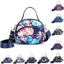 CONEED Women Handbags Luxury Womens Fashion Nylon Zipper Simple Mixed Color Single Shoulder Messenger Bags  Shoulder Bags JUN20