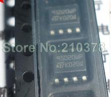 10 STKS M95020-WMN6TP SOP-8 M95020 95020WP 95020 4 Kbit 2 Kbit en 1 Kbit Serial SPI Bus EEPROM Met Hoge snelheid Klok