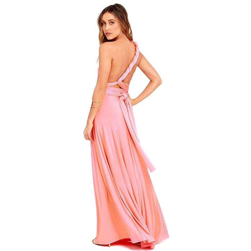 Mulheres sexy boho maxi clube vestido vermelho bandagem vestido longo festa multiway damas de honra conversível infinito robe longue femme