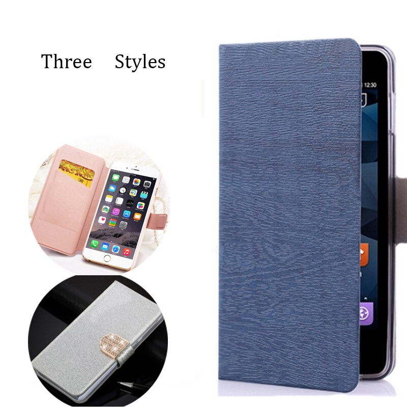 (3 Styles) Pu Leather Case For Doogee X6 Wallet Flip Cover Stand Phone Bags Cases Cell Phone Shell with Card Holder
