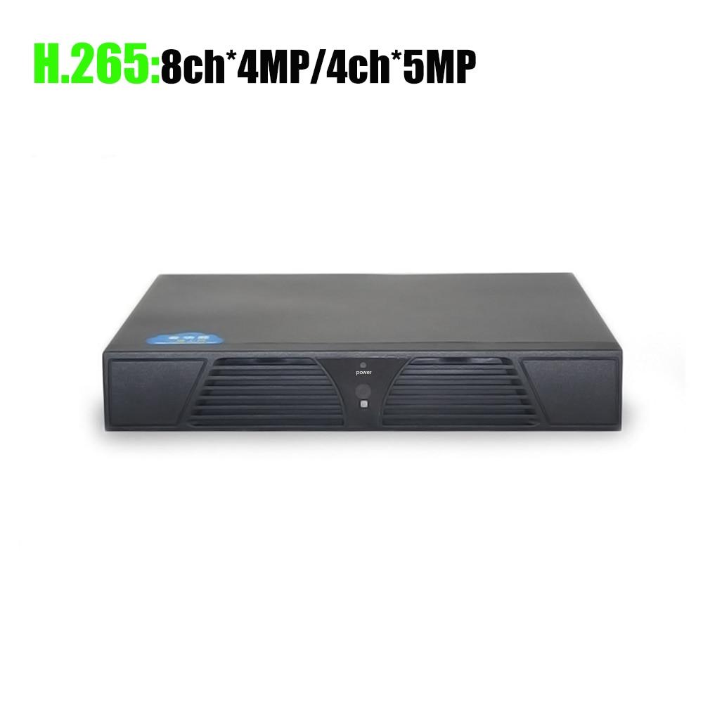 YiiSPO 4CH 5MP/8CH 4MP 16CH * 5MP NVR H.265 безопасности сети видео Регистраторы 4 K HDMI NVR IP CCTV Камера XMeye приложение Hi3536D H.264 +