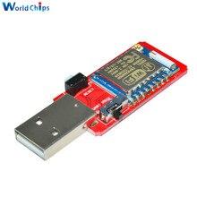 CH340 CH340G USB vers ESP8266 ESP-07 sans fil Wifi Module de développement de la carte Wi-Fi antenne intégrée au Module de pilote TTL