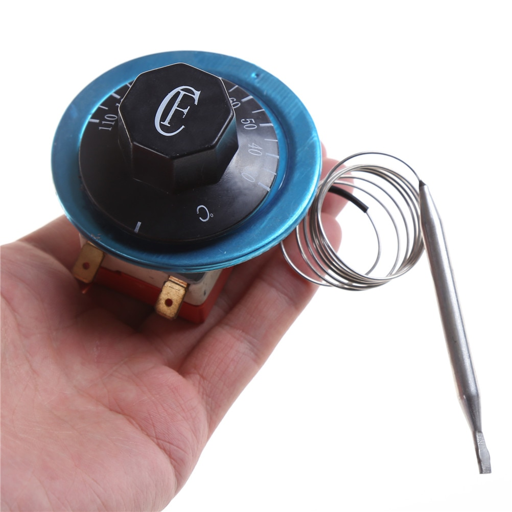 220В AC 16A 30-110/60-200/50-300 градусов по Цельсию керамическая основа механический термостат водонагреватель переключатель температуры