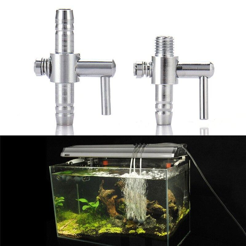 Регулятор воздуха для аквариума, клапан из нержавеющей стали, резервуар для рыбы, кислородный воздушный поток, трубка, трубопровод, разделитель, регулирующий клапан, воздушный насос, аксессуары