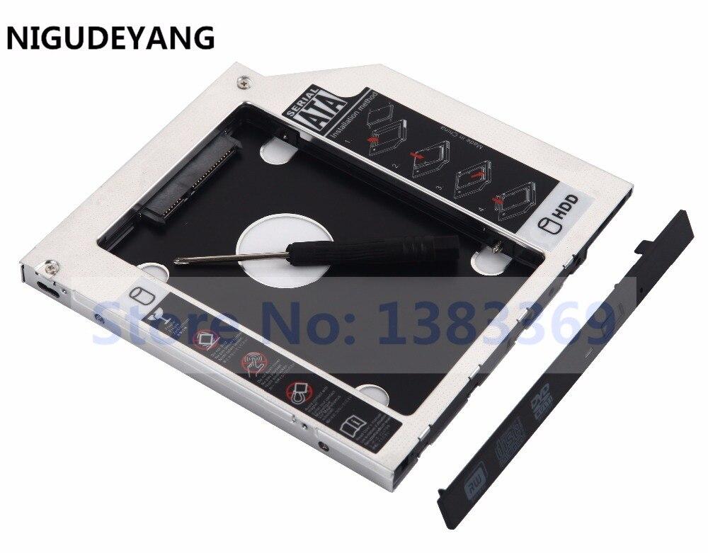 Nigudeyang ssd hdd hard drive quadro adapter caddy para hp zbook g2 substituir bu20n dvd estranho