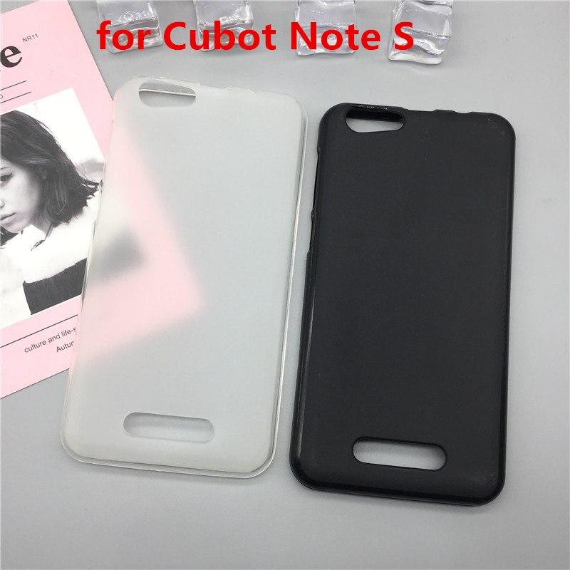 Original TPU Phone Case Covers for Cubot Note S Matte Soft Silicone Back Cover Cases Capa Funda Para