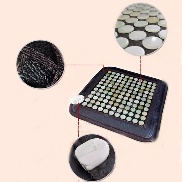 Coussin de Jade chauffé infrarouge en gros promouvoir la Circulation sanguine coussin de Jade été tapis de Germanium 45X45 CM livraison gratuite