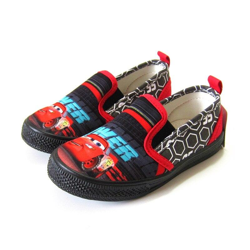 Dibujos Animados coches solo Zapatos Niños Capitán América primavera nuevo estilo un pie niño suave dibujos animados zapatos de lona