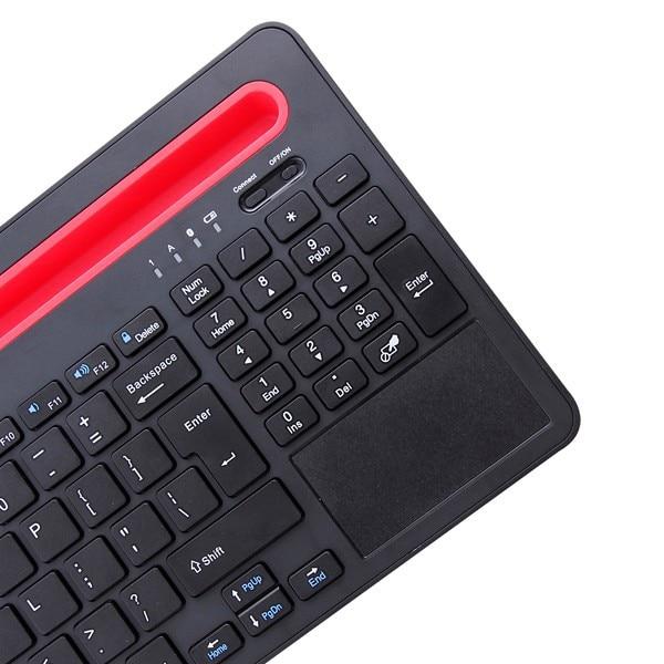 2016 Fashion Touch Panel Bluetooth keyboard for 10.1 inch Chuwi Hi10 win10  tablet pc for Chuwi Hi10 keyboard