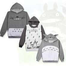 High Quality Anime My Neighbor Totoro Tonari no Totoro Hoodie Coat Cosplay Costume Warm Sweater Jacket Coat