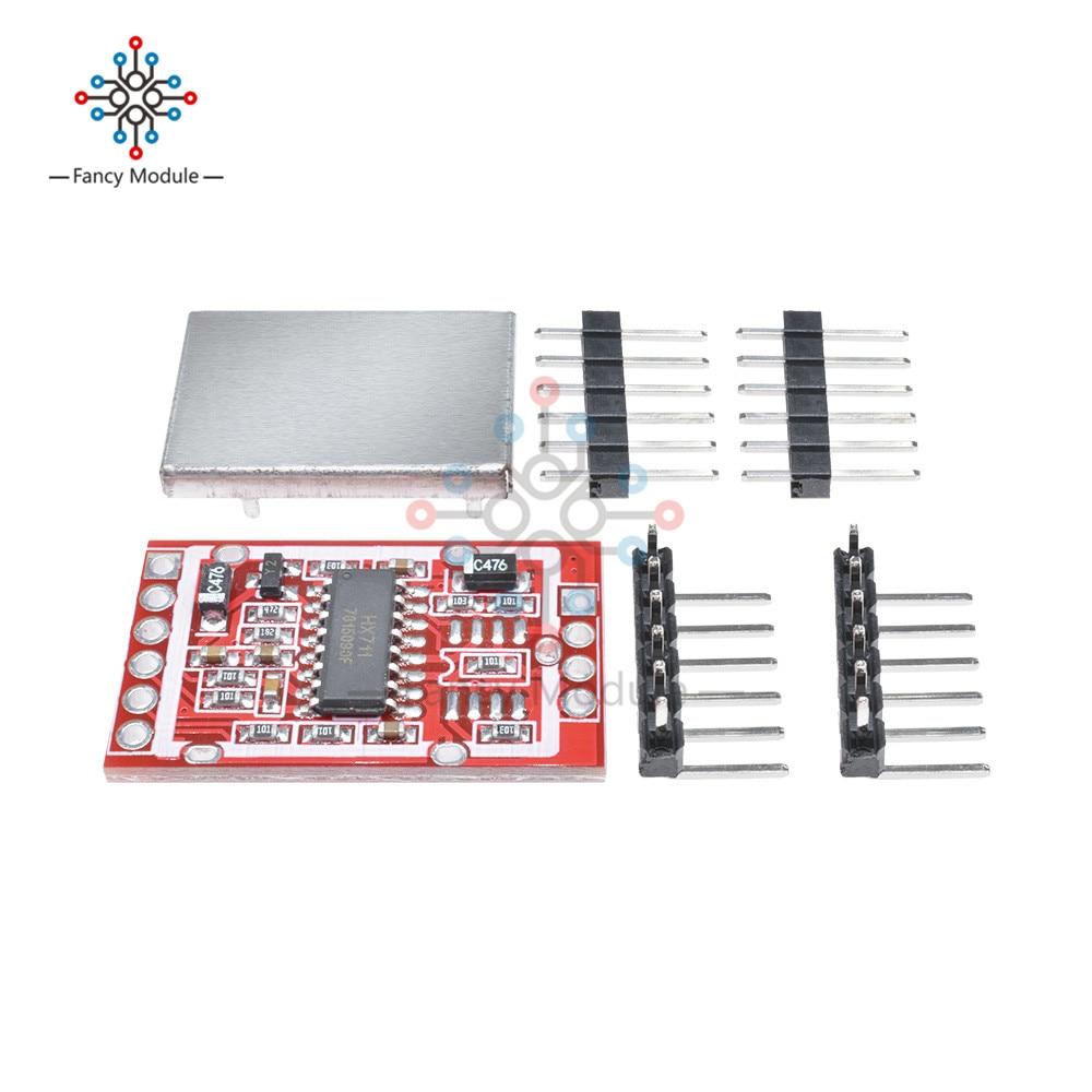 HX711 Module de capteur de poids de Guide de branchement de carte de rupture damplificateur de cellule de charge pour la mesure de pesage de contrôle de processus déchelle industrielle