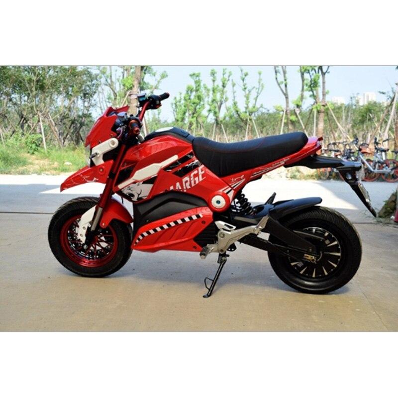 Горячий стиль электрический мотоцикл Citycoco 1200W электрический скутер 72 V/20A двухместные электрические мотоциклы