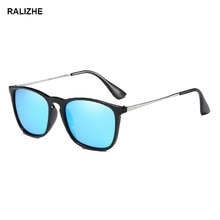 RALIZHE Fashion Women Polarized Rectangle Sunglasses Vintage Classic Cool Brand Design Sun Glasses F