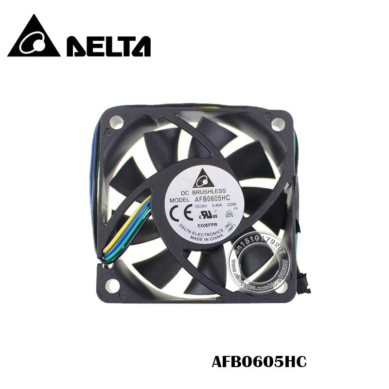 6 см 60 мм вентилятор 60x60x15 мм AFB0605HC 5V 0.40A двойной шарикоподшипник большой объем воздуха Вентилятор охлаждения