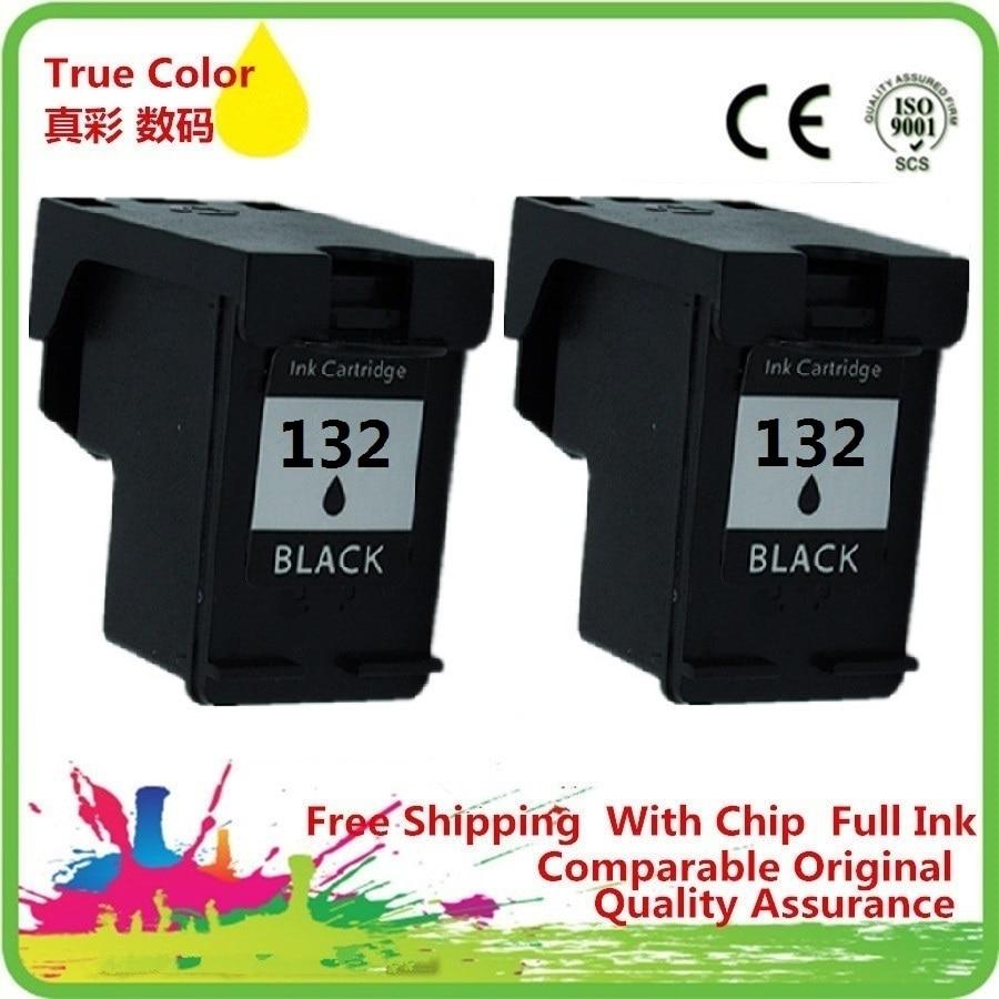 Remanufactured Cartucho de Tinta preta Para 132 XL 132XL HP132 HP132XL OFFICEJET 6208 6210 6213 6215 7205 7208 7210 7213 7215