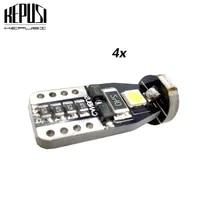 4pcs canbus t10 w5w led car light 158 147 161 168 3smd 3030 width lamp reading lamp no error report clearance bulb