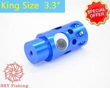 SXY FISHING D50LX 6.4OZ King Size Metal Trolling Lure Outsize Trolling Bait DIY Jet Head Color metal bait Trade price Blue