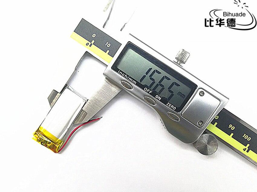 Bateria para Fone de Ouvido Lote Lítio Recarregável li Ion Polímero 3.7 v 300 Mah Bluetooth Gps Mp3 Mp4 10 Pçs – 601535