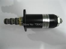 Fast Free shipping! Kobelco excavator SK200- 6 hydraulic pump solenoid valve 30C40-111 - Kobelco solenoid valve