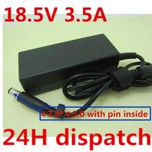 HSW 18.5V 3.5A 65W di Potere del Caricatore AC Adapter per HP Pavilion G6 G56 CQ60 DV6 G50 G60 G61 g62 G70 G71 G72 6715s 6730s 6735s 6730b