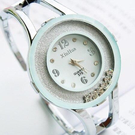 2016 roulement strass dames Bracelet décontracté diamant bijoux horloges femmes robe montres à Quartz robe montre hodinky