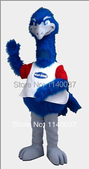 blue emu mascot costume custom fancy costume anime cosplay mascotte theme fancy dress carnival costume