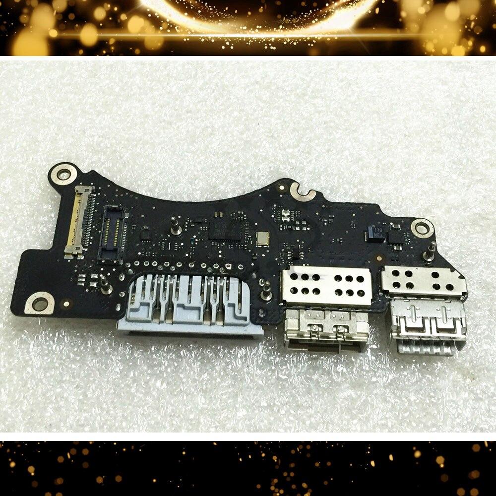 لوحة طاقة جاك تيار مستمر IO 98% جديد لجهاز Macbook 15, Pro A1398 2013 2014 Retina لوحة الطاقة