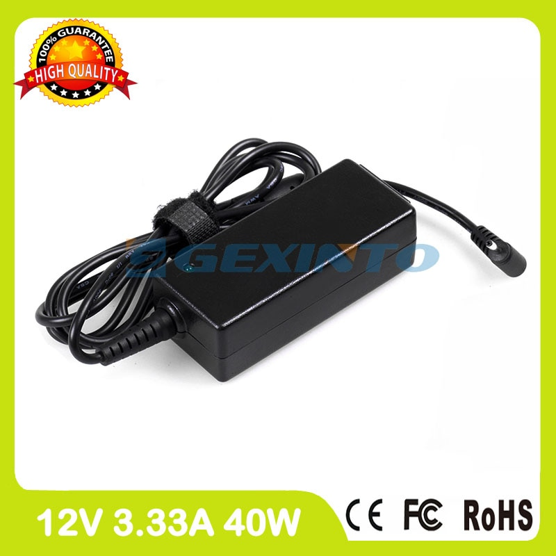 12V 3.33A 40W adaptador de potencia ac de BA44-00294A cargador del ordenador portátil para Samsung ATIV Tab 3 XE300TZC Tab 7 XE700T1C Chromebook XE503C32
