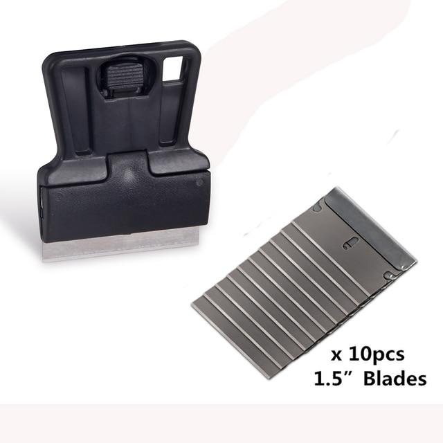 EHDIS скребок для бритвы + 10 шт., инструменты для тонировки окон, виниловая пленка для автомобиля, Ракель, стикер для стайлинга автомобиля, удалитель клея
