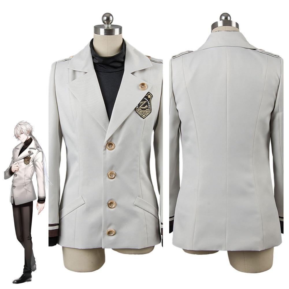 Игра Мистик мессенджер Zen Ryu Hyun костюм зенни маскарадный костюм куртка + рубашка Хэллоуин Карнавальный костюм на заказ