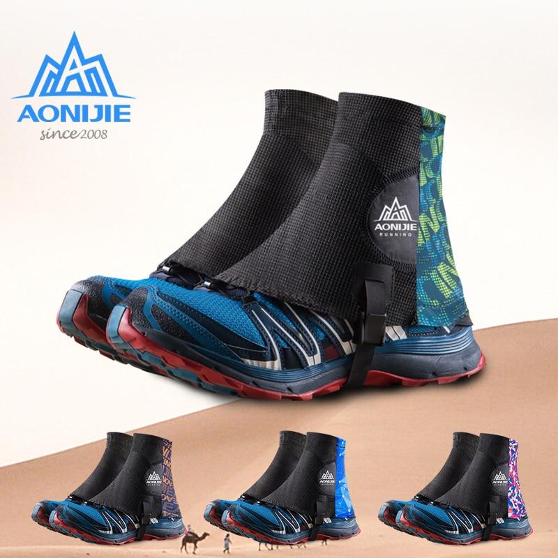 AONIJIE E941, cubiertas protectoras para zapatos a prueba de arena para senderismo, Maratón, triatlón, senderismo, Unisex, para exteriores