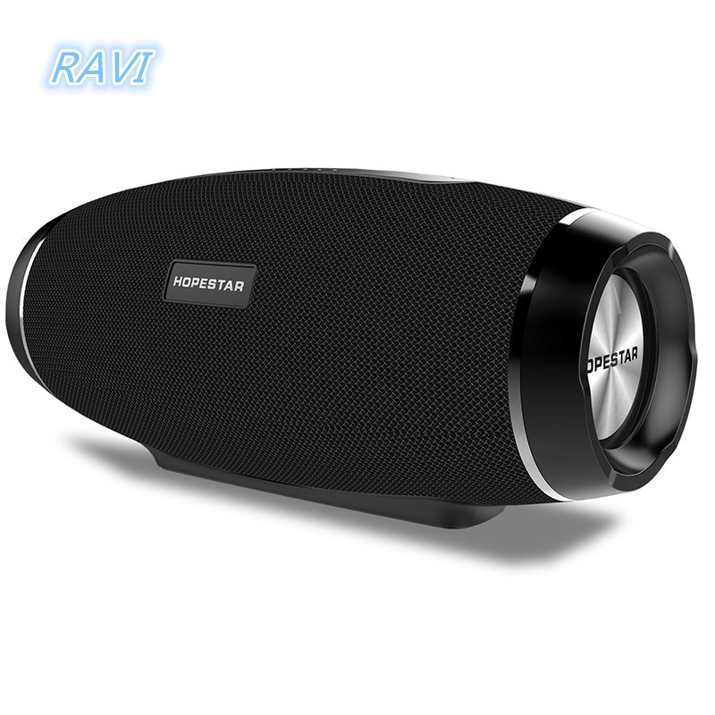 Al aire libre altavoz portátil resistente al agua Altavoz Bluetooth inalámbrico de fútbol tarjeta Subwoofer estéreo MP3 jugador soporte TF + FM Radio
