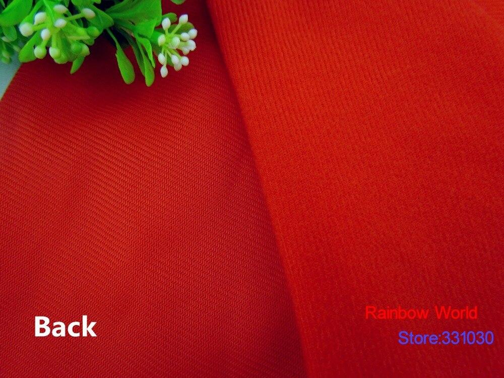 9283 # tela de vellón con lazo de Color rojo se puede pegar con cinta mágica/DIY costura juguetes de peluche sofá material terciopelo velboa (5 metros/lote)