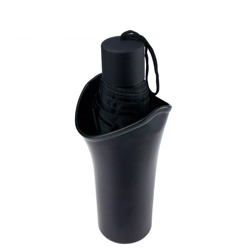 Universal ABS plegable paraguas titular paraguas caso puerta o portavasos instalación accesorios coche colgar o colocar la instalación
