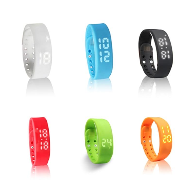 W2 Candy Colors pulsera inteligente Sleep Tracker Passometer actividad Tracker nueva pulsera deportiva banda inteligente