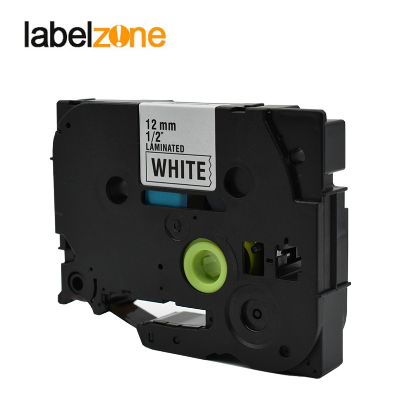 LABELZONE ламинированные Tze231 ленты для этикеток, совместимые с Brother Black on White Tz231 Tze-231 tze для brother P-touch