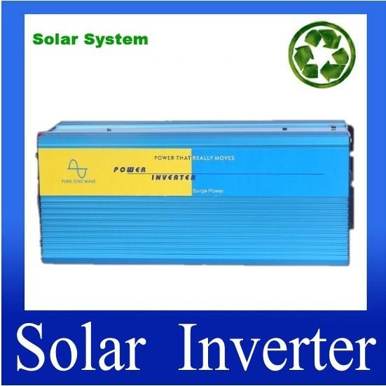 DHL UPS FedEx envío gratis 60v a AC 230v 3000w pico 6000W inversor de potencia, inversor de potencia de onda sinusoidal pura, inversor solar